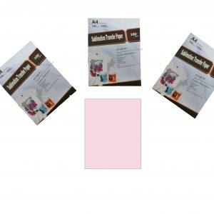 papel rosado para sublimar